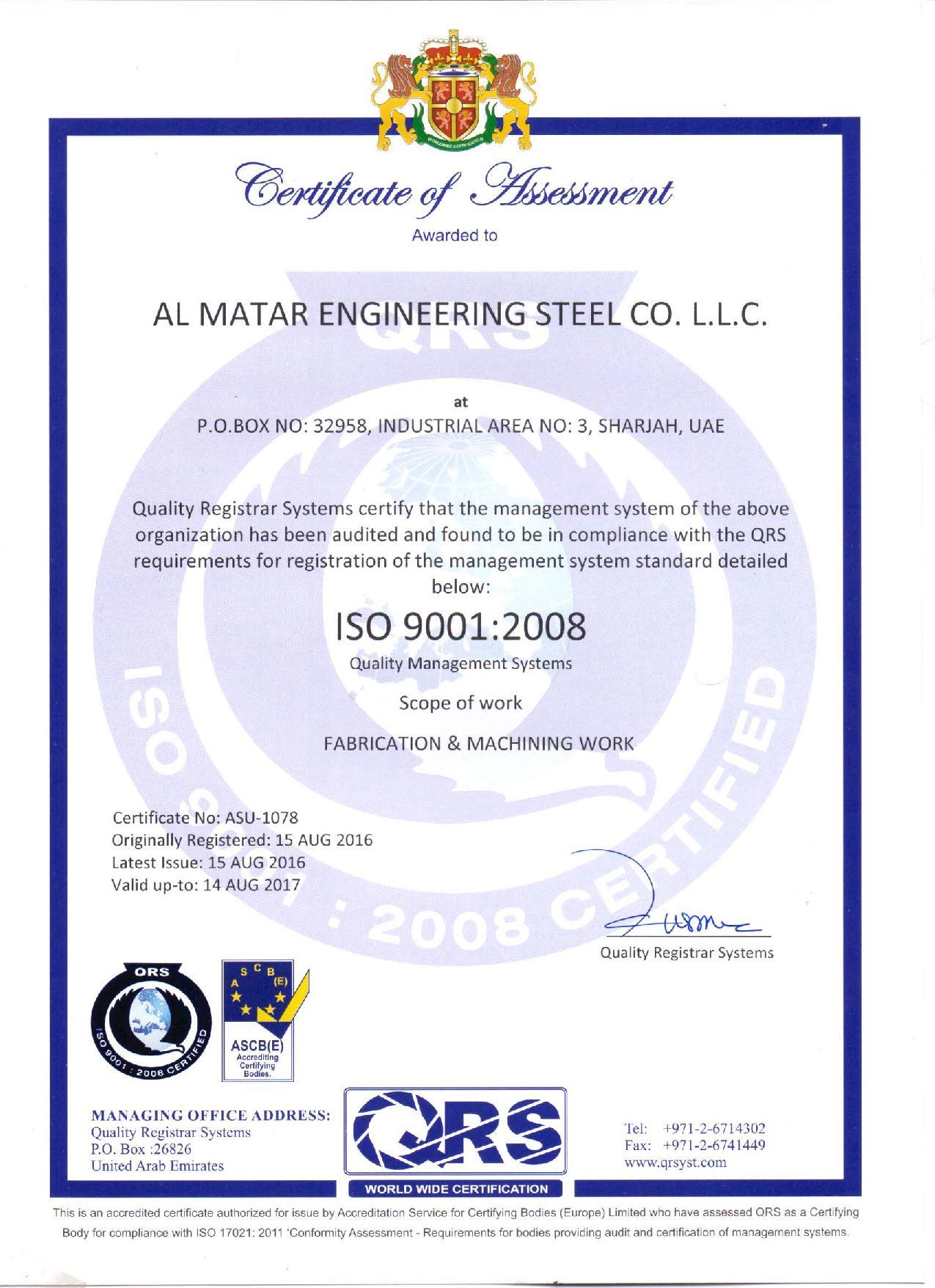 ISO 9001 2008 Matar-page-001